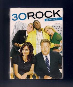 30 Rock Season 3 DVD Set NEW