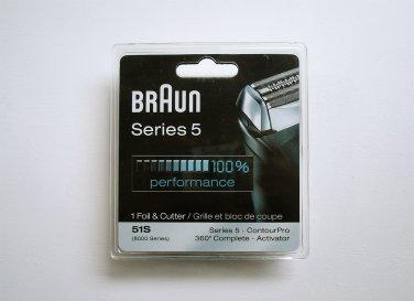 Braun 51S Shaver Foil & Cutter NEW