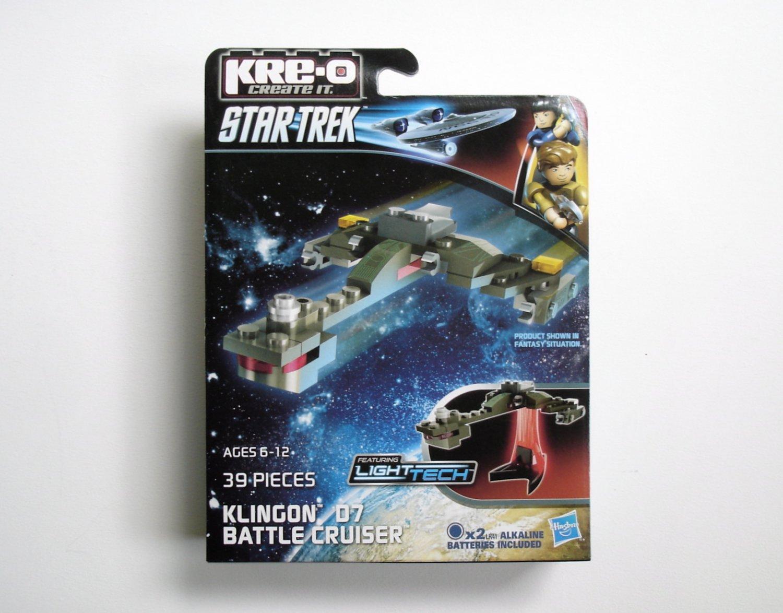 KRE-O Star Trek Klingon D7 Battle Cruiser NEW