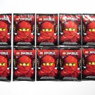 10 LEGO Ninjago Special Edition Card Packs NEW