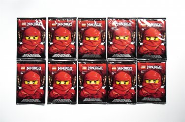 10 LEGO Ninjago Special Edition Card Packs NEW