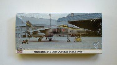 Hasegawa Mitsubishi F-1 Air Combat Meet 1995 1/72 Scale 00647 NEW