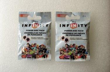 2 Disney Infinity Power Disc Packs Series 2 NEW
