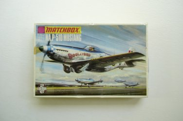 Matchbox NA P-51D Mustang 1/72 Scale Model Kit NEW