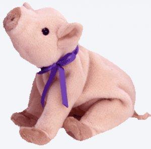 (12) KNUCKLES The Pig TY Beanie Babies DOZEN NWT