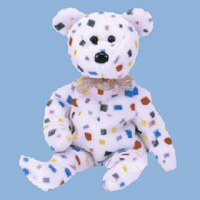 Dozn  TY2K Bear,  4262, TY Beanie Babies lot of 12 New MWT