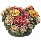 Harmony Kingdom ROSE BASKET HGLELR, Martin Perry New MIB