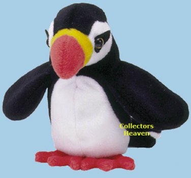 New (12) PUFFER The Puffin, TY Beanie Babies 4181, DOZEN never displayed,  all tags