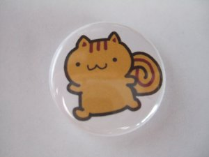 "1"" Squirrel Button"