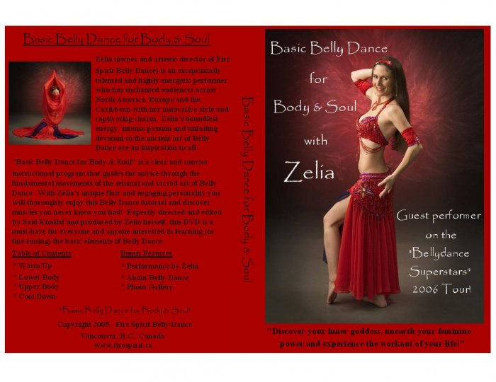 Basic Belly Dance for Body & Soul