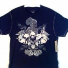 DKNY Men T-Shirt Skulls in the Garden