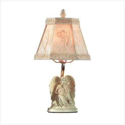 ANGEL W/CHERUB LAMP