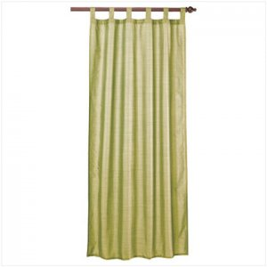 Green Polystrait Curtain