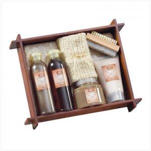 Tea & Ginger Bath - Wood Tray