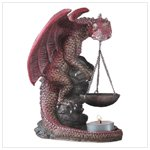 CERAMIC DRAGON OIL BURNER 30742