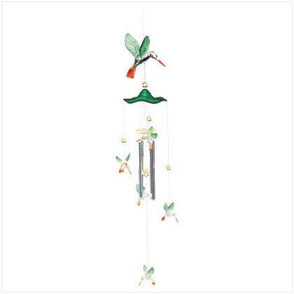 Acrylic Hummingbird Windchimes 34699