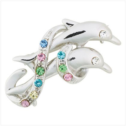 Double Dolphins Pin 36903