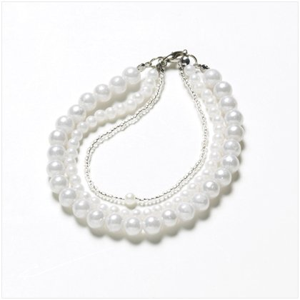 Three Strands Pearl Bracelet 37675
