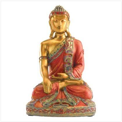 Sitting Buddha Figure 37910