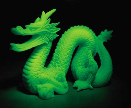ALAB. GLOW IN THE DARK DRAGON 29223