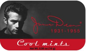 JAMES DEAN Cool Mints (LOT of 12)