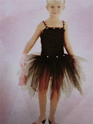 Posh BALLERINA TUTU LEOTARD Costume GIRLS S Halloween