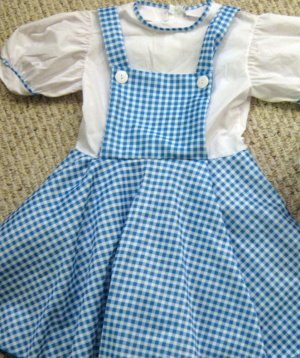 WIZARD OF OZ DOROTHY COSTUME GIRLS S 4-6