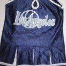 BLUE LOS ANGELES CHEERLEADER COSTUME GIRLS DRESS 3T TODDLER