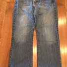 """Abercrombie&Fitch""Blue Denim 5Pocket Distressed Capri/Jeans size 6R Super CUTE!"