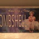 Marilyn Monroe license plate BOMBSHELL