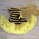 BUMBLE BEE COSTUME & WINGS Yellow S/M