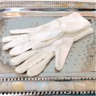 Children's WHITE SATIN GLOVES
