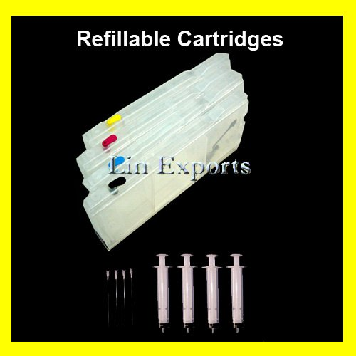 XL Refillable Cartridges for Brother LC10 LC37 LC51 LC57 LC960 LC970 LC1000C FREE S/H WORLDWIDE!!!