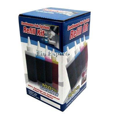 4*120ml Pigment + Dye ink for HP10 2000c 2500c 2500cse (HP 10) FREE SHIPPING WORLDWIDE!!!