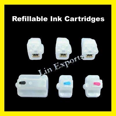 Refillable Cartridges for HP 363 (HP363) C8719 C8771 C8772 C8773 C8774 C8775 FREE S&H!!!