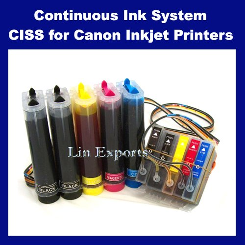 Pigment + UV INK CIS for Canon IP3600 IP4600 MP540 MP545 MP620 MP628 MP630 MP638 MX860 MX868