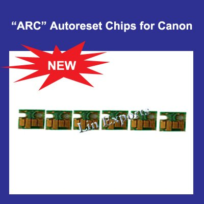 Auto Reset Chips for Canon Pixma ip6600D ip6700D CLI-8 BK/C/M/Y/PC/PM ARC Chips FREE S/H!!!