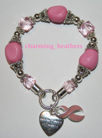 new breast cancer awareness bracelet