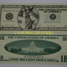 1 BILLION  DOLLAR BILL NOVELTY NOTE