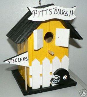 NFL - Pittsburg Steelers Bird House