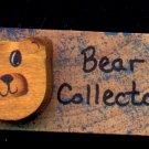 Bear Collector - Wooden Miniature
