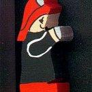 Fire Fighter - Wooden Miniature