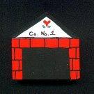 Fire House - Wooden Miniature