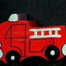 Fire Truck - Wooden Miniature