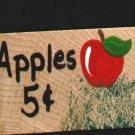 Apple .5 - Wooden Miniature