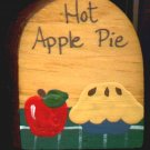 Hot Apple Pie - Wooden Miniature