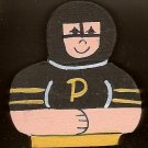 Pittsburg Penguin Hockey Player -NHL - Sports Wooden Miniature