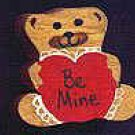 Be Mine Bear - Valentine Wooden Miniature