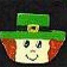St. Patrick's Day Man - Irish Wooden Miniature