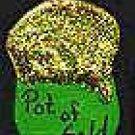 Irish Pot of Gold - St. Patrick's Day Wooden Miniature